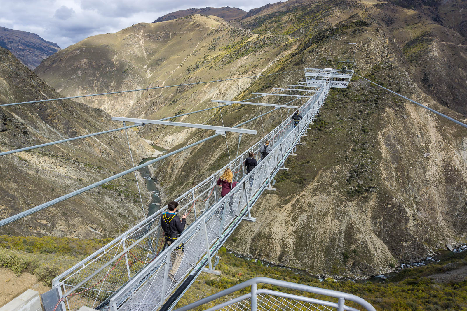 Nevis Swing New Zealand Largest In World Find Away Photography